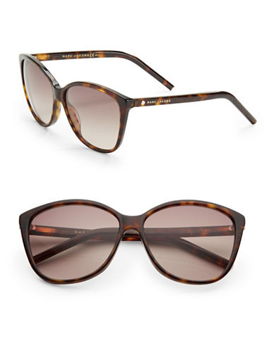 marc jacobs female 58mm butterfly sunglasses
