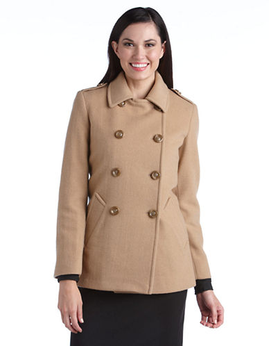 Double Breasted Pea Coat