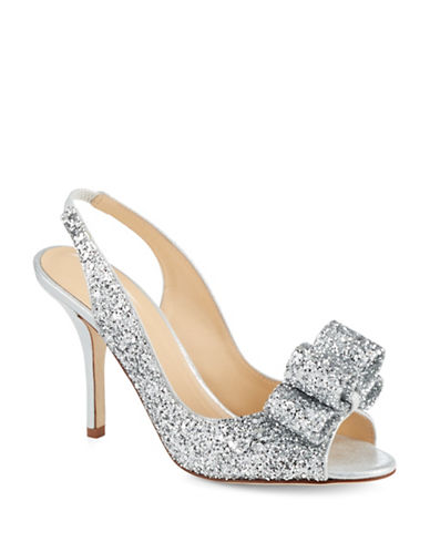 Kate Spade New York Charm Glitter Heels