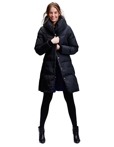 Michael Michael Kors Pillow Collar Down Walker Coat