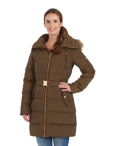MICHAEL KORSBelted Puffer Coat