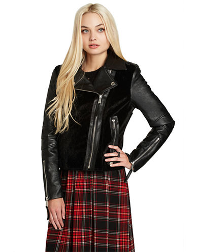 BCBGENERATION Faux Moto Jacket