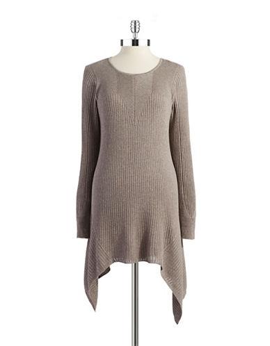 NIC+ZOEKnit Sweater Dress With Sharkbite Hemline
