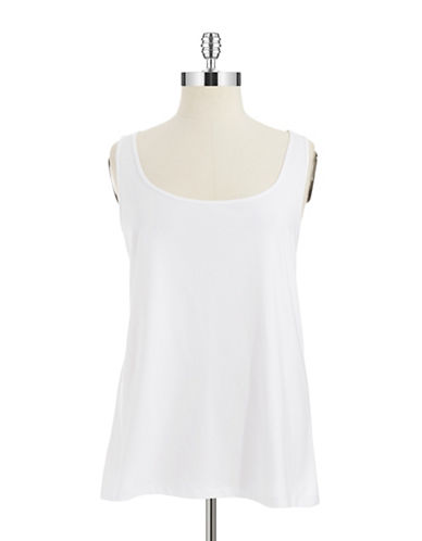 Nic+Zoe Plus Plus Solid Tank Top