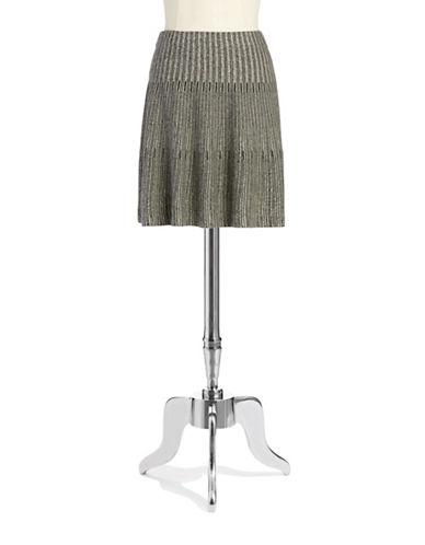 NIC+ZOEStriped Knit Skirt