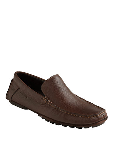 CALVIN KLEINDeauville Leather Loafers