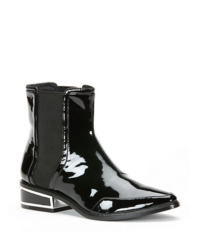 Buy Billie Patent Leather Chelsea Boots by Rachel Zoe online