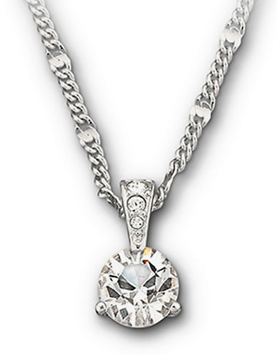 SWAROVSKIRound Solitaire Crystal Pendant Necklace