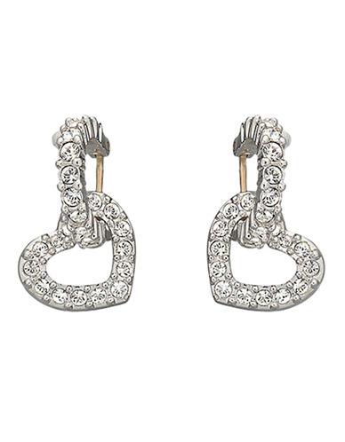 SWAROVSKIHeart Dangle Crystal Pavé Earrings