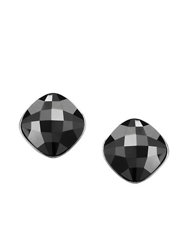 ab421c8aee43e UPC 768549318986 - Swarovski Lea Jet Crystal Stud Earrings ...
