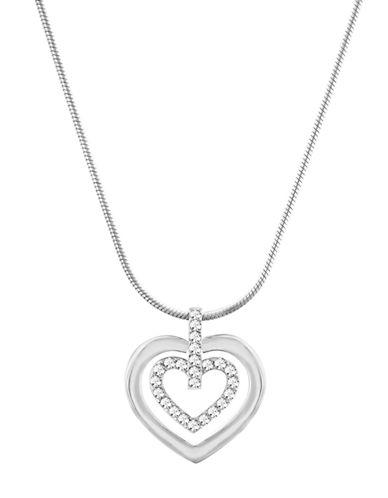 SWAROVSKICircle Heart Pendant Necklace