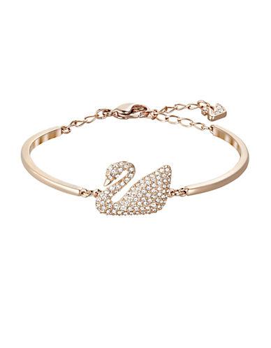 SWAROVSKISwan Crystal Bangle Bracelet
