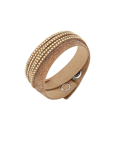 SWAROVSKISlake Duo Gold Bracelet