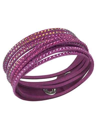 SWAROVSKI Crystal-Accented Layered Bracelet in Ruby