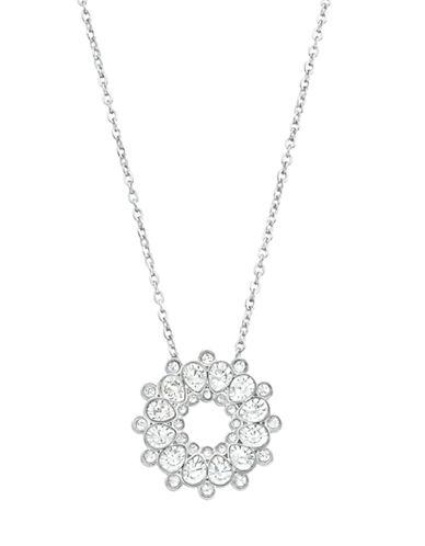 SWAROVSKIAsset Silver Tone and Crystal Pendant Necklace