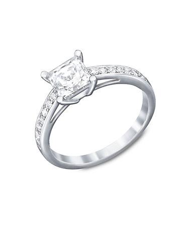 SWAROVSKIAttract Silver-Tone Crystal Ring