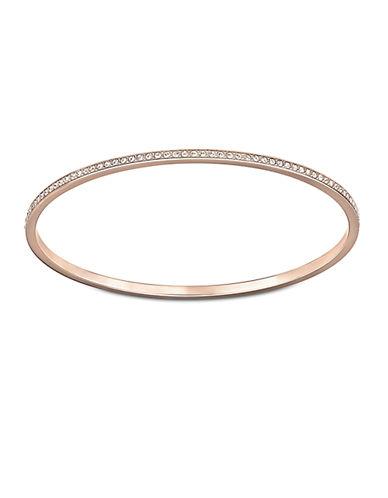 SWAROVSKIRose Gold and Crystal Ready Bangle Bracelet