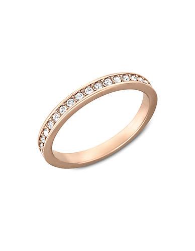 SWAROVSKIRose Gold and Crystal Rare Ring