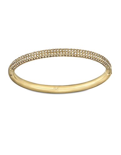 SWAROVSKI Crystallized Gold-Tone Bangle Bracelet