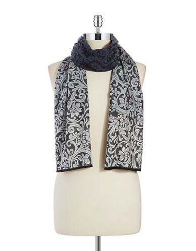 LORD & TAYLOR Baroque Knit Scarf