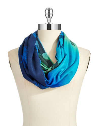 LORD & TAYLOR Floral Shadowed Scarf