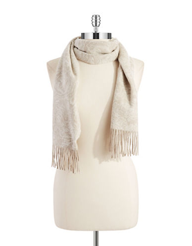LORD & TAYLORCashmere Floral Scarf