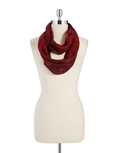 LORD & TAYLOR Paisley Infinity Scarf