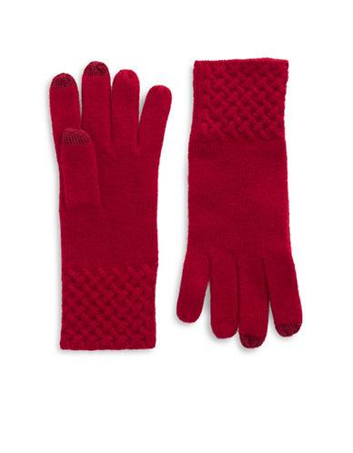 LORD & TAYLORKnit Cuff Cashmere Gloves