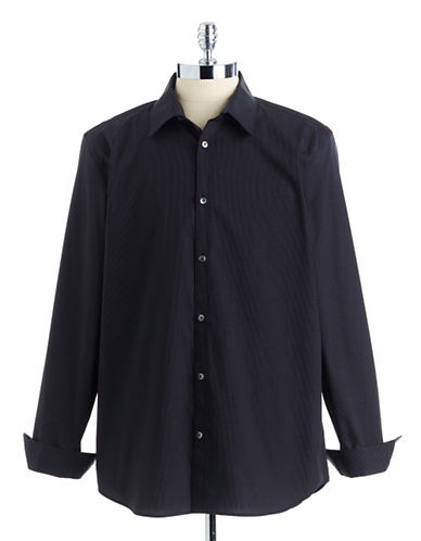 CALVIN KLEIN Mini-Checked Sport Shirt