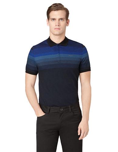 CALVIN KLEINPlaced Stripe Polo