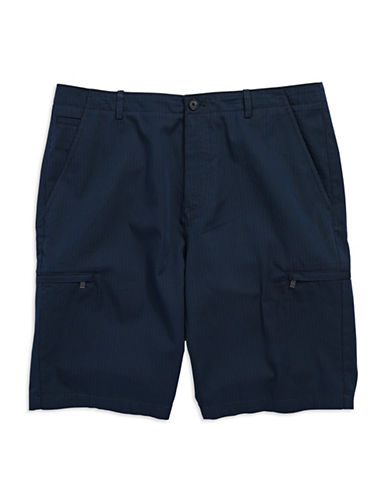 CALVIN KLEINStriped Chambray Shorts
