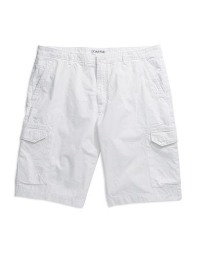 CALVIN KLEINTwill Cargo Shorts