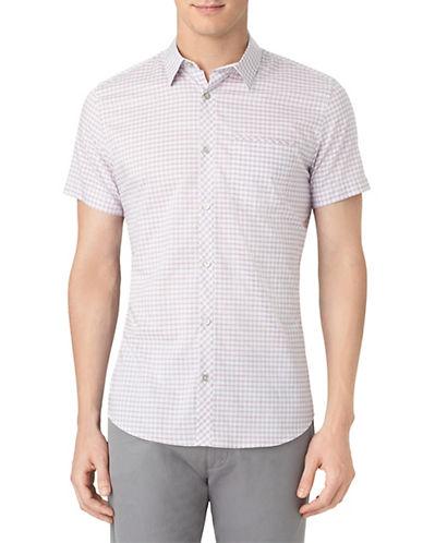 CALVIN KLEINModern Fit Medium Shadow Check Sport Shirt