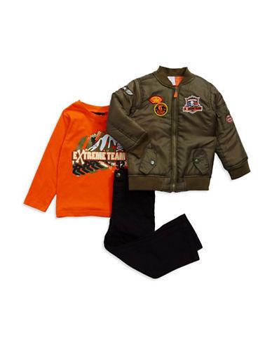 BOYS ROCKBoys 2-7 Three Piece Jacket Set