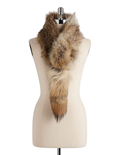 HUDSON'S BAY COMPANY Convertible Coyote Fur Scarf