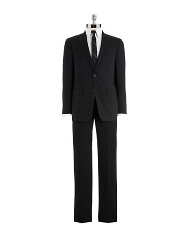 MICHAEL KORS Modern Fit Two-Piece Wool Suit With Pleated Pants