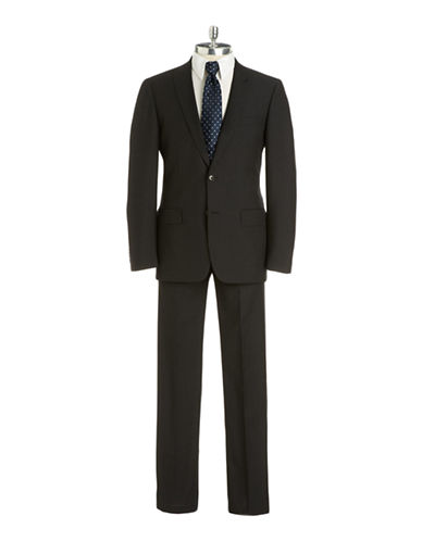 JOHN VARVATOS U.S.A. Slim Fit Pinstriped Wool Suit