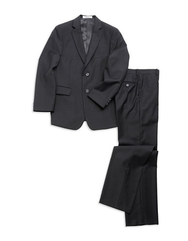 DKNY Guys 8-20 Wool Two-Piece Suit