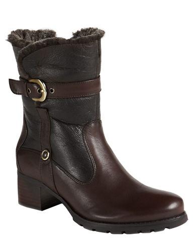 BLONDOFantasia Shearling-Lined Buckle Boots