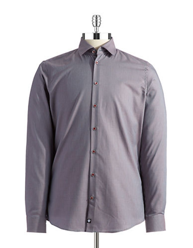 STRELLSONSlim Fit Checkered Sport Shirt