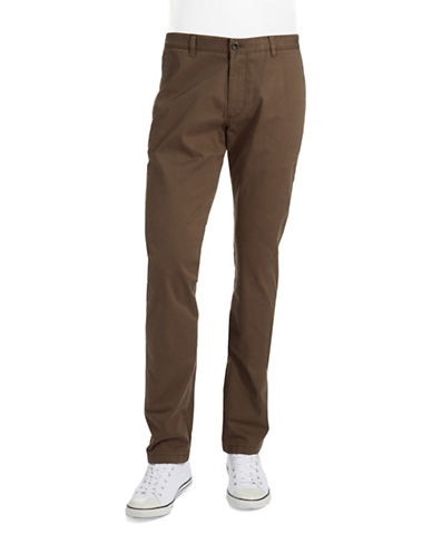 STRELLSONStraight Legged Twill Pants
