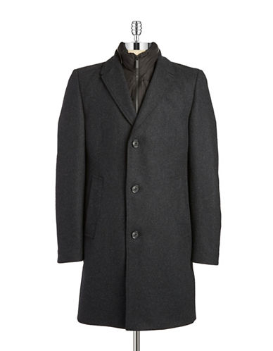 STRELLSON Wool Chesterfield Coat