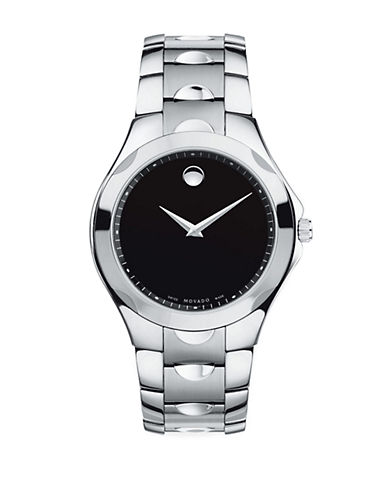 MOVADOMens Luno Sport Museum Dial Stainless Steel Watch