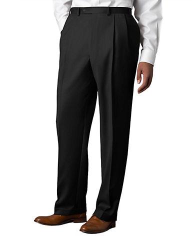LAUREN RALPH LAURENWool-Cashmere-Blend Cuffed Pants