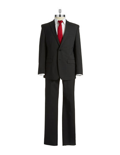 Calvin Klein Pinstriped Two Piece Suit Set