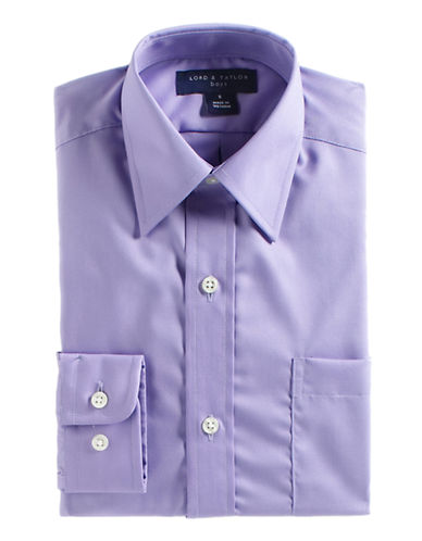 LORD & TAYLOR KIDS Button-Down Cotton Dress Shirt