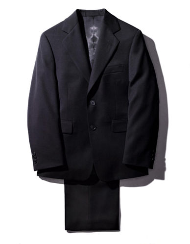 LORD & TAYLOR KIDS Guys 8-20 Navy Wool Blend Suit