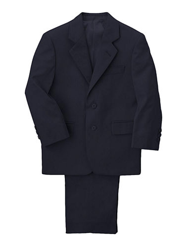 LORD & TAYLOR KIDS Boys 2-7 Navy Wool Blend Suit
