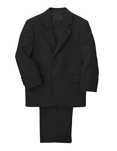 LORD & TAYLOR KIDS Boys 2-7 Wool Blend Black Suit