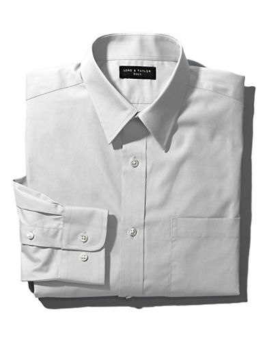 LORD & TAYLOR KIDS Guys 8-20 Spread Collar Dress Shirt